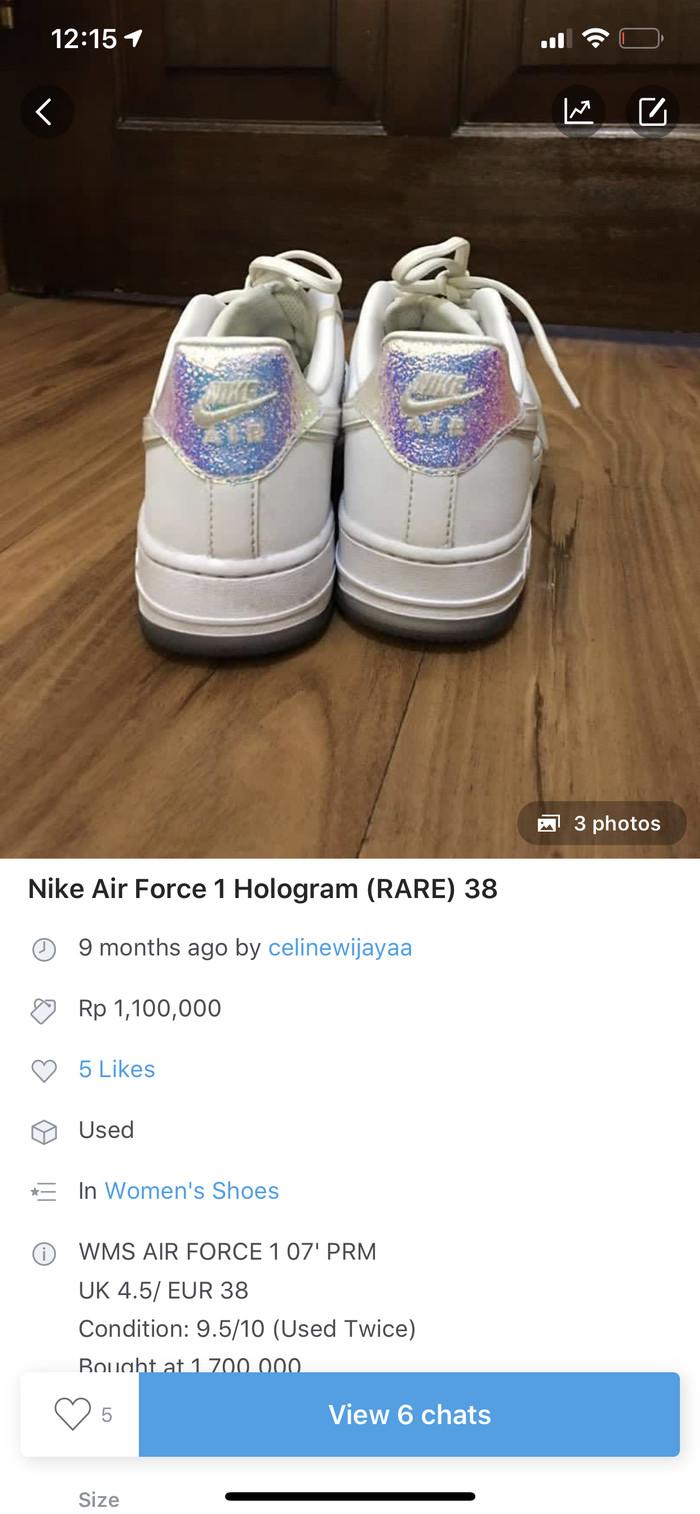 Nike Jakarta Holo Dki Preloveditems2713Tokopedia Airforce Jual vmw0nN8