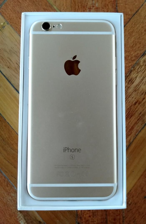 Jual MURAH  Iphone 6S Gold 64GB ZP A Fullset Original Bandung ... dba8a36f34