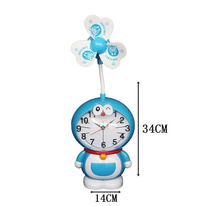 Jual Jam Meja Kipas Doraemon Hiasan Dekorasi Kamar Anak Unik Lucu I 300 Jakarta Barat Indie Art Room Tokopedia
