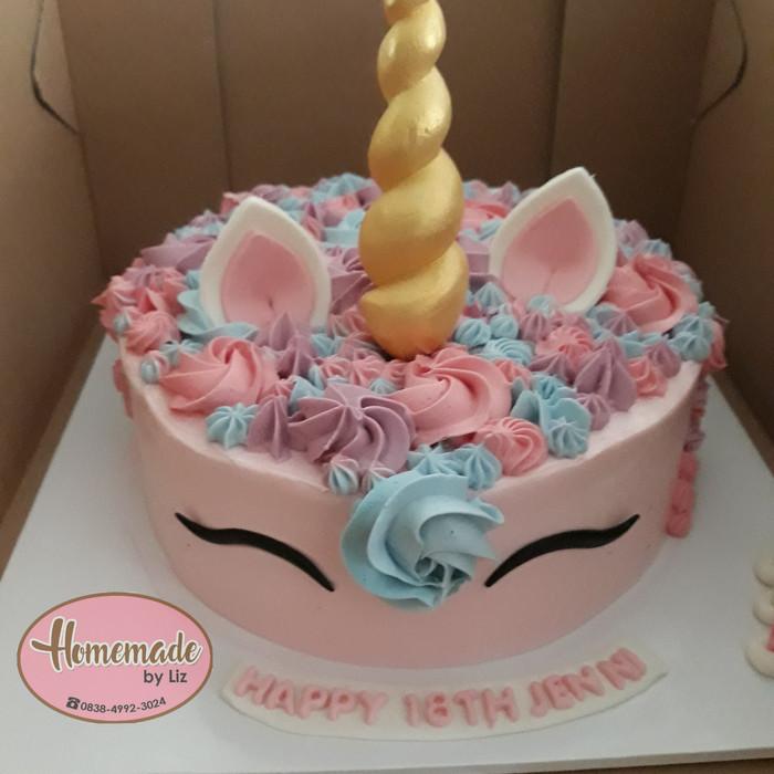 Jual Kue Ulang Tahun Anak Unicorn Cikarang Kab Bekasi Homemade By Liz Tokopedia