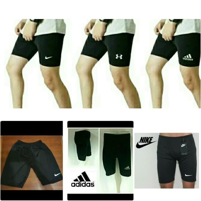 Jual Celana Legging Pendek Olahraga Gym Renang Pria Ukuran Besar Jumbo Hitam Xxxl Jakarta Selatan Aprillia Fashion Tokopedia