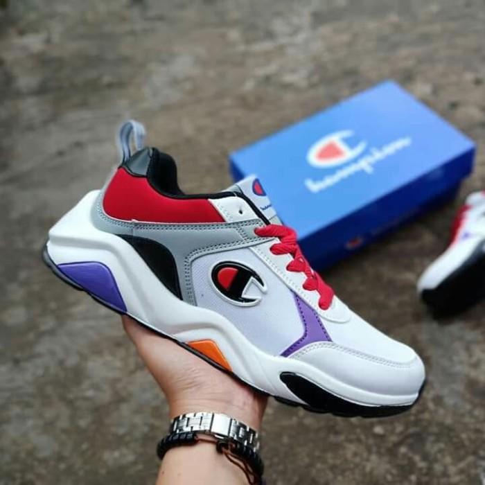 2324f6b2121ec Jual sepatu pria sneaker champion running sport premium Quality ...