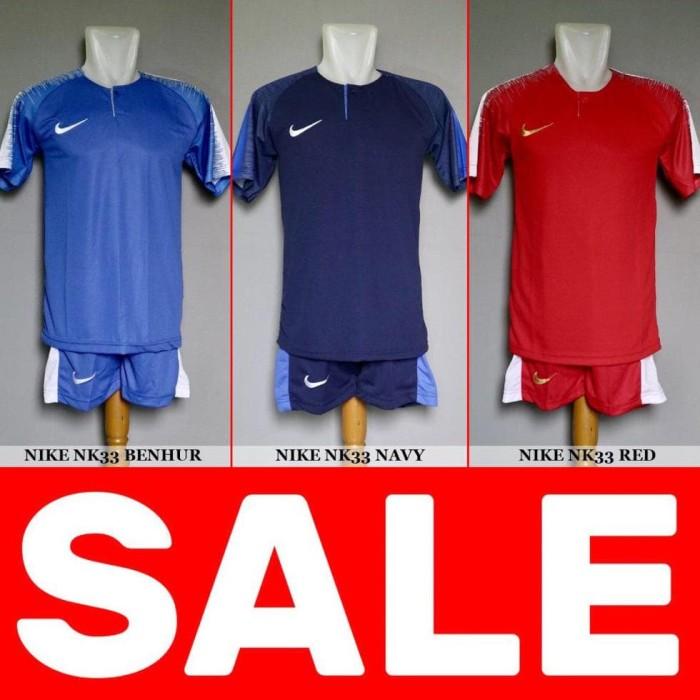 Jual terbaru Setelan Futsal Bola Sepakbola Nike NK33 - Baju Kaos . e2f34c04a302c