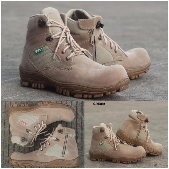 Sepatu Kickers Boots Safety Porsh Delta Cream - List Harga Terkini ... e937498ac3