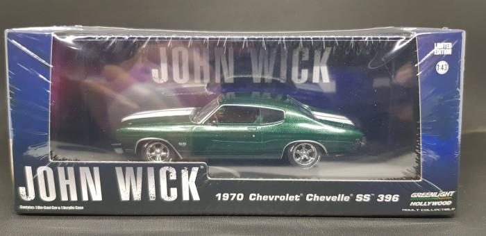 2016 Chevelle Ss >> Jual Greenlight Scale 1 43 John Wick 1970 Chevrolet Chevelle Ss 396 Kota Bogor Ankshop Tokopedia