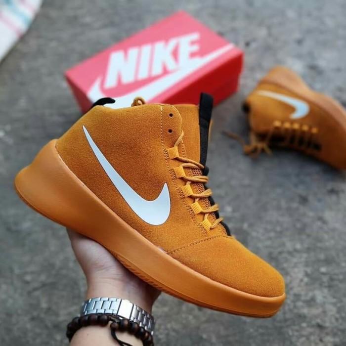 Jual sepatu nike airmax boot high army forman NK 01 - Tan 92a09d4e55