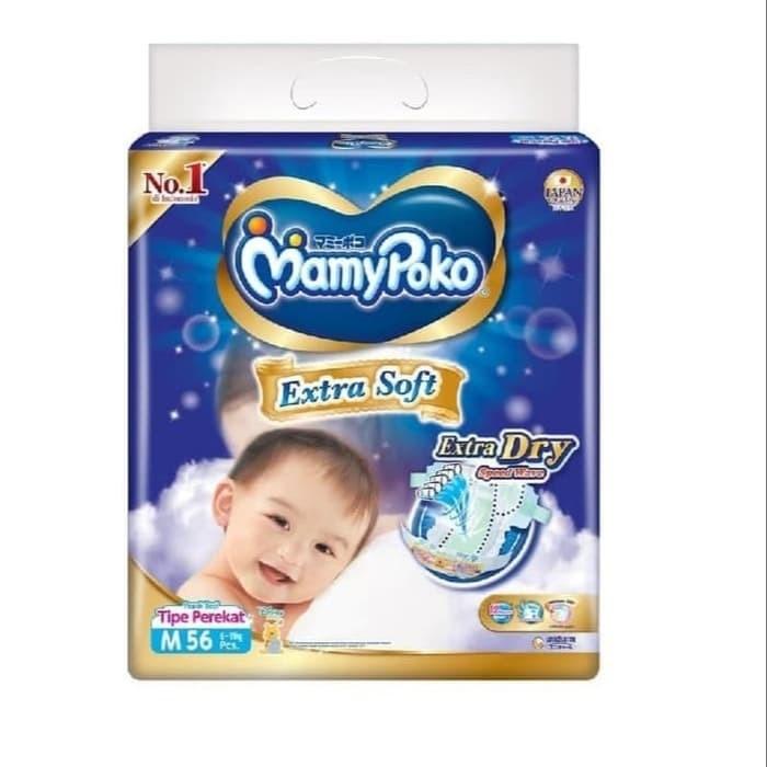 Foto Produk Mamypoko extra soft extra Dry M56 dari warungozan11