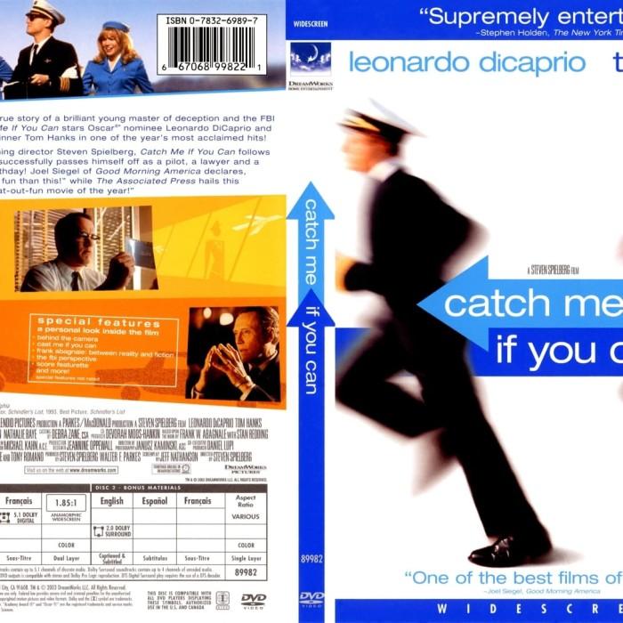 Jual Film Dvd Catch Me If You Can 2002 Movie Collection Film Koleksi Jakarta Barat M Collector Tokopedia