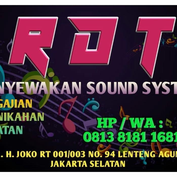 Contoh Desain Baliho Sound System - gambar spanduk