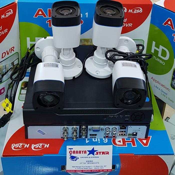 harga Camera cctv paket 4ch hikvision oem lensa 2mp suport 4in1 full hd Tokopedia.com