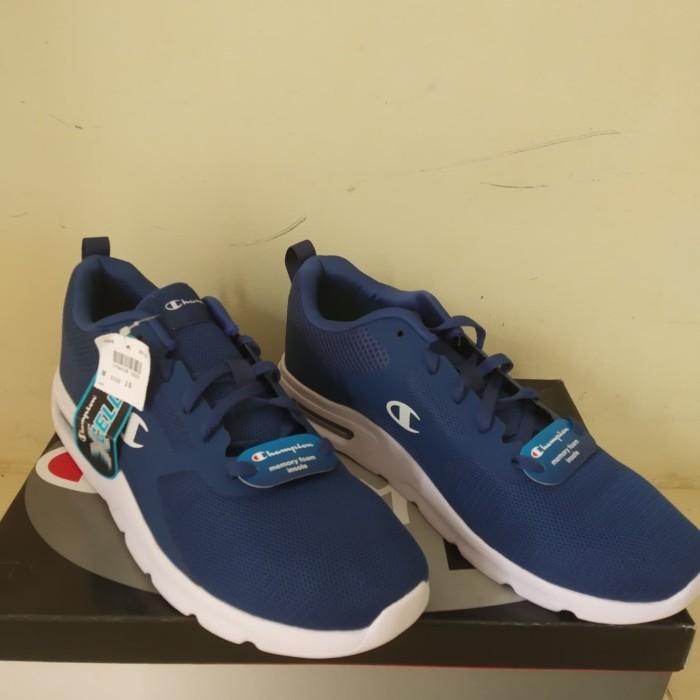 08f4f44de664e Jual sepatu Champion Original Running Gusto Merah Men Memory Foam ...