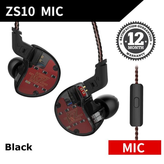 Foto Produk Knowledge Zenith ZS10 In Ear Earphone - Hybrid 5 driver - Hitam dari Knowledge Zenith Store