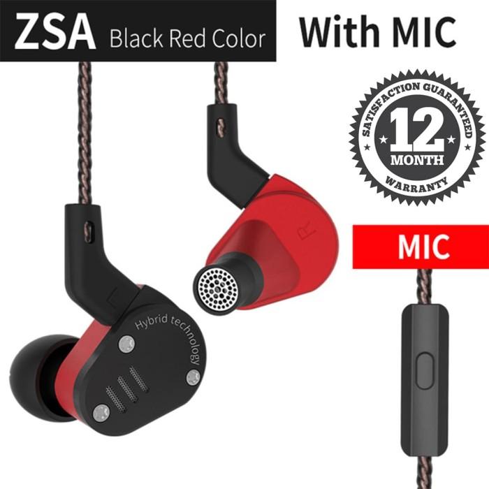 bedfd34e5c5 Info Harga Knowledge Zenith ZSA In Ear Earphone Hybrid Dual Driver ...
