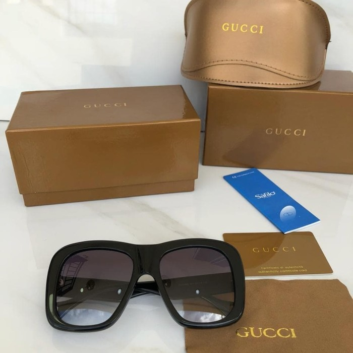 9022a0ea19c Jual Gucci Sunglass 0498 SUPERMIRROR UV400 - Authentic Luxury okta ...