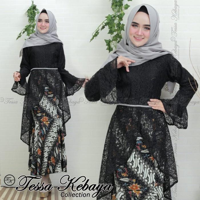 Jual Setelan Kebaya New Model Brokat Pita Warna Hitam Jakarta Pusat Berkahkebaya Tokopedia