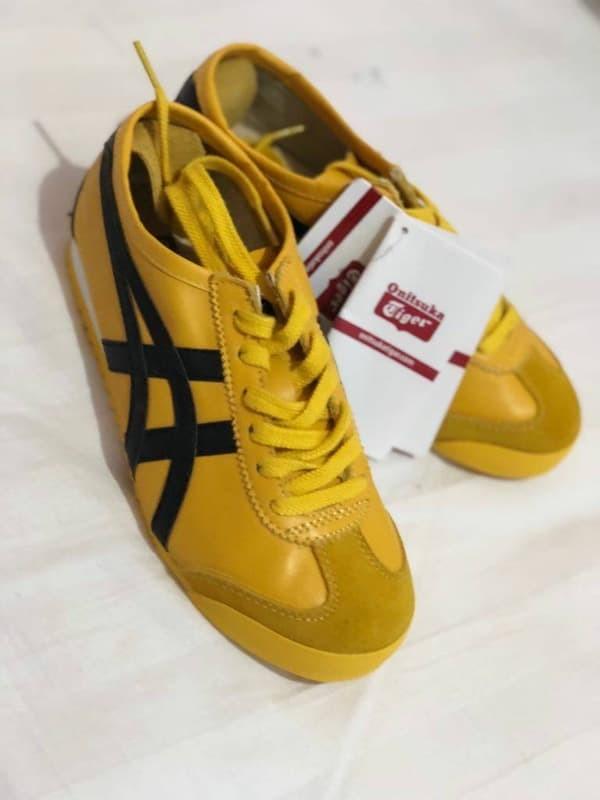 best sneakers 111e3 29f75 Jual Sepatu Asics Onitsuka Tiger Mexico 66 Yellow Premium Original - DKI  Jakarta - Abang Sepatu | Tokopedia