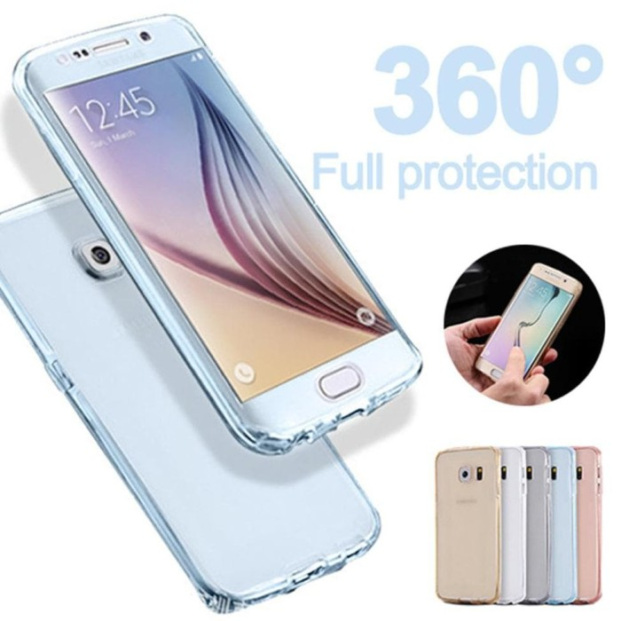 Update - Samsung S7 Edge Crystal Clear Softcase 360 Protection Premium