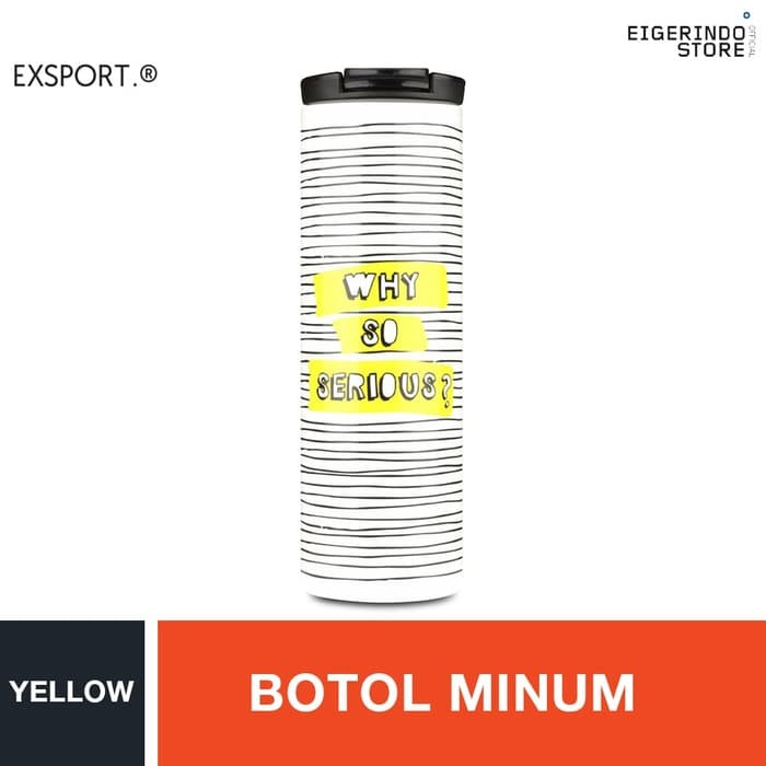 Foto Produk Exsport Termo Streep Bottle - Yellow dari BORNFASHIONED
