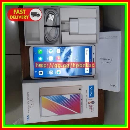 Jual Hp Vivo Y71 Like New Handphone Vivo Y71 Bekas Smartphone Vivo