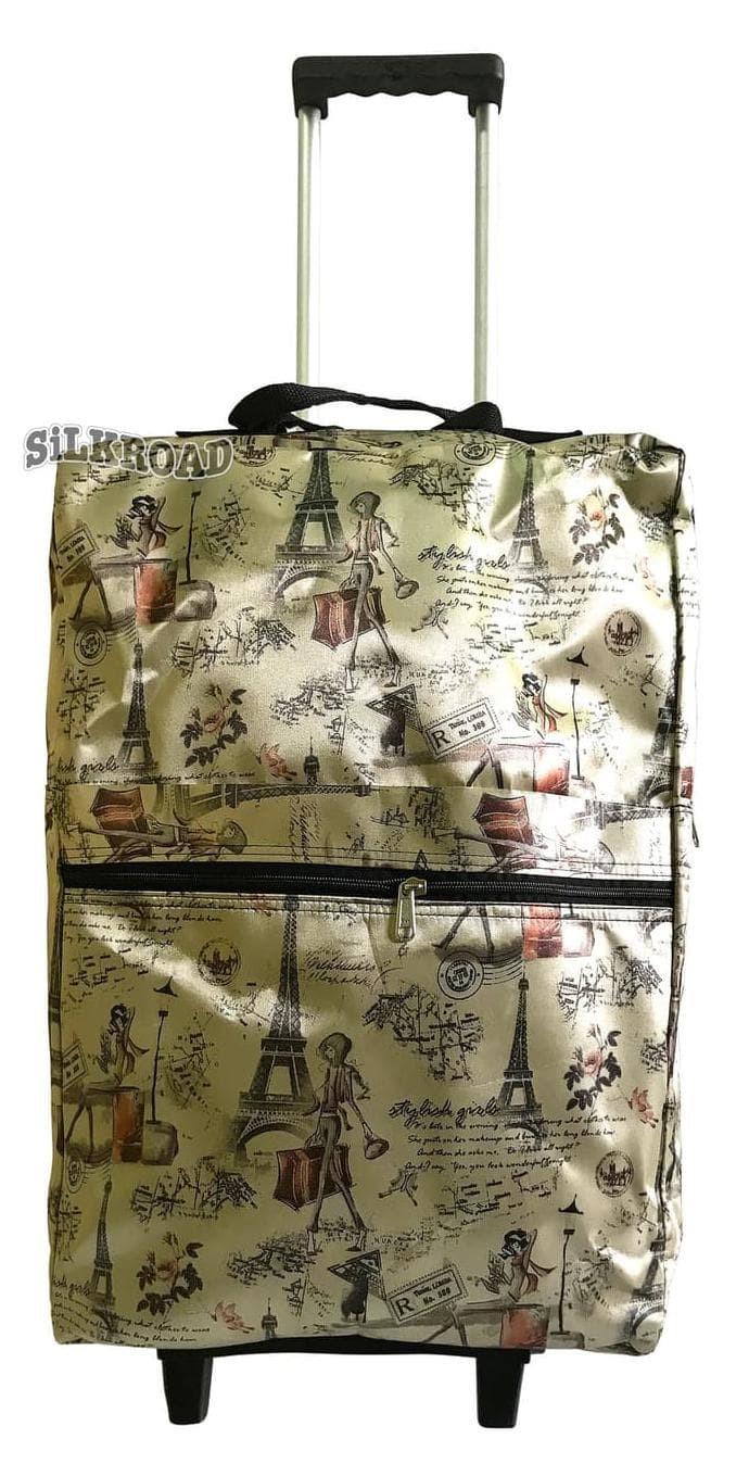 Promo Tas Travel Bag,Shopping,Koper,Lipat Troley,Troli,Portable,Paris