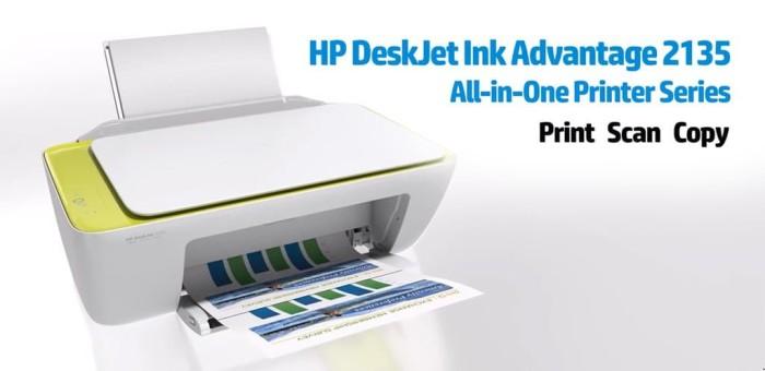 Printer HP Deskjet Ink Advantage 2135 All in one printer Shopee Source · Printer HP Deskjet 2135 Putih