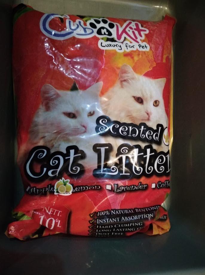 Jual Gojek Cub N Kit Bentonite Cat Litter Pasir Gumpal Kucing Wangi 10 L Jakarta Pusat Betty Shops Tokopedia