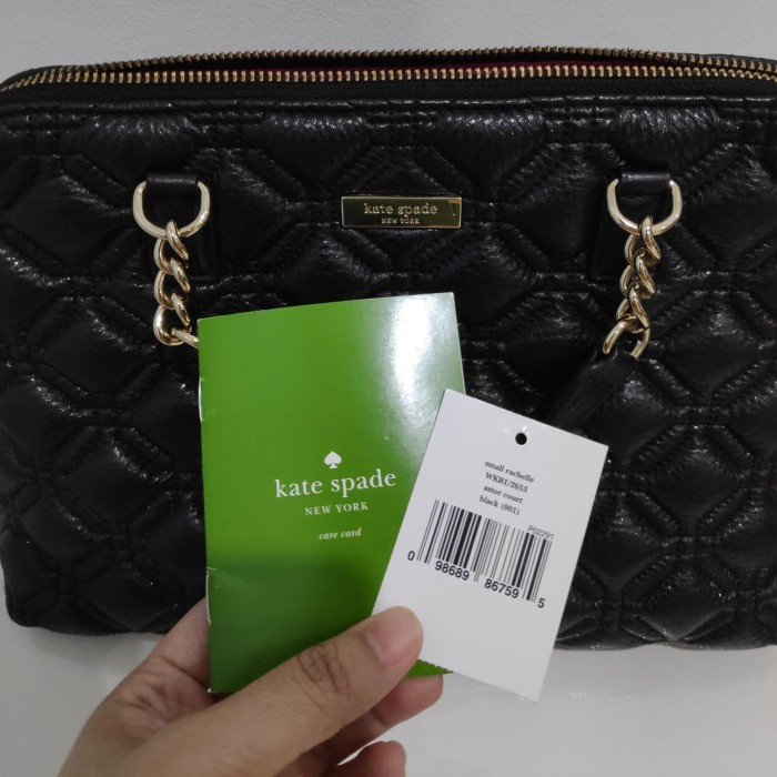 f21f277f24 Kate Spade Whitaker Place Small Rachelle Black Crossbody Handbag Purse -