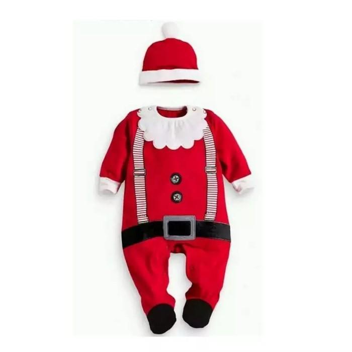 Foto Produk baju bayi jumper karakter santa claus for baby dari Toserba Aidi