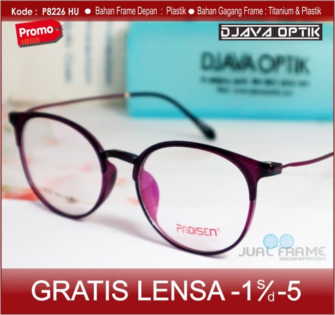 Jual Kacamata Minus Bulat - Pria   wanita + Baca Anti Radiasi 8226 ... 11da2c4897