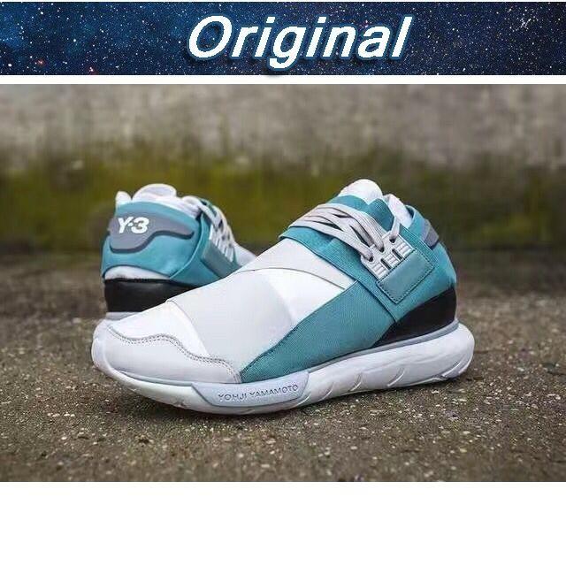 f5a2e8d5284c0 Jual Sepatu Sneakers Desain Adidas Y3 Qasa High natji Yamamoto Warna ...