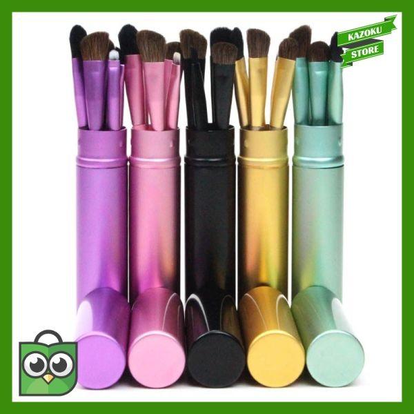 4be32cd95b5d Jual New 5pcs Travel Portable Mini Eye Makeup Brushes Set Reals Eyeshadow -  Kazoku Store2 | Tokopedia