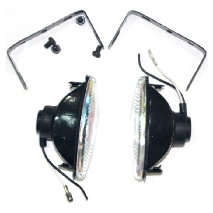 harga Lampu sorot oval tipe yth 777 aksesoris motor murah Tokopedia.com