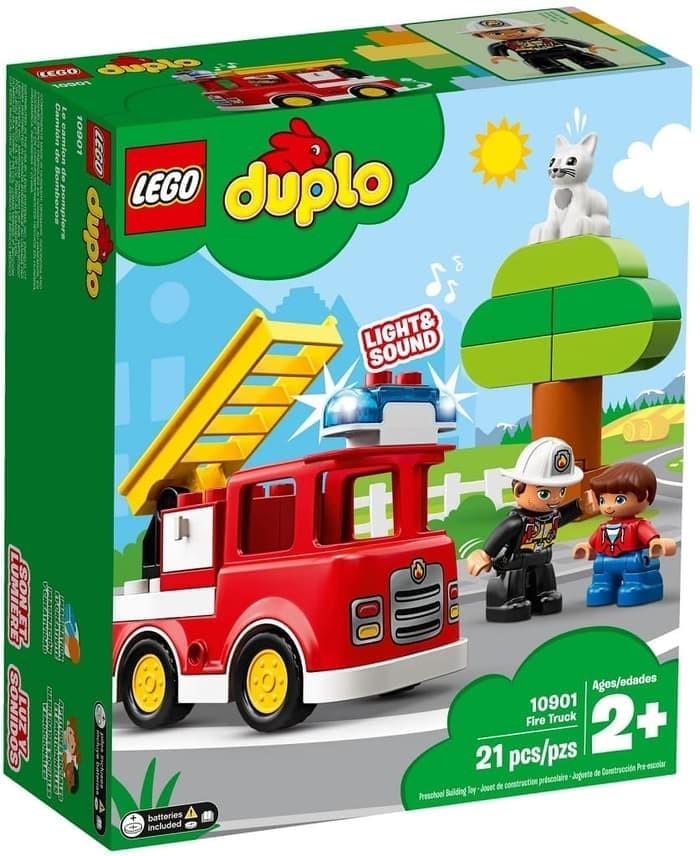 Jual Lego Duplo 10901 Fire Truck Nellolego Tokopedia