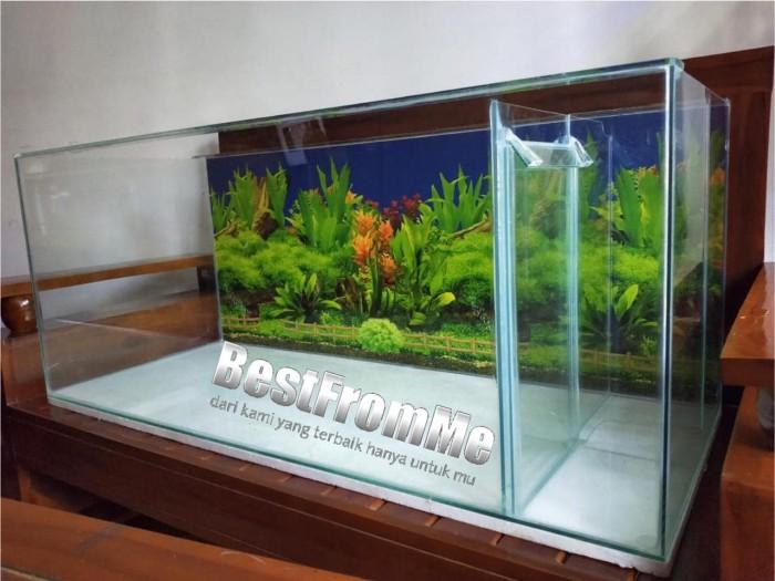 Jual Akuarium Aquarium Filter Samping 60x30x35 Cm 60 X 30 X 35 Kaca 5 Mm Kota Bekasi Best From Me Tokopedia