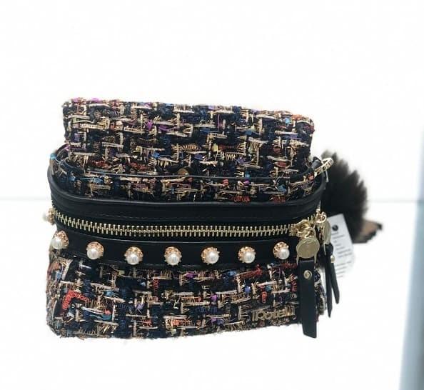 Jual TAS ROTELLI ORIGINAL SERI TWEED BUMBAG - Geraldine Ellina Shop ... 99bc432349