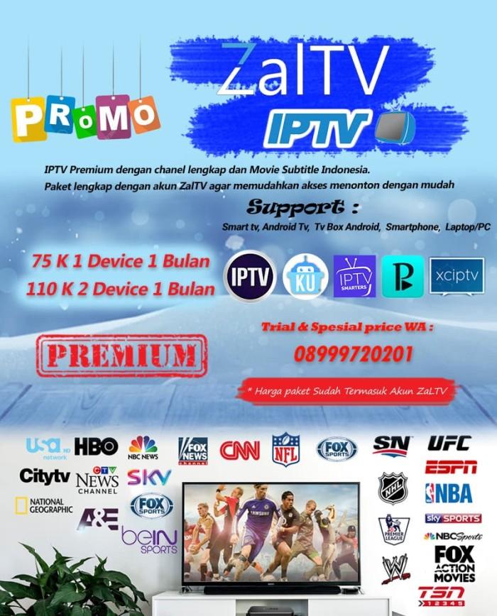 Jual IPTV Premium sub Indonesia Plus Zaltv - Jakarta Pusat - Arra-Shop |  Tokopedia