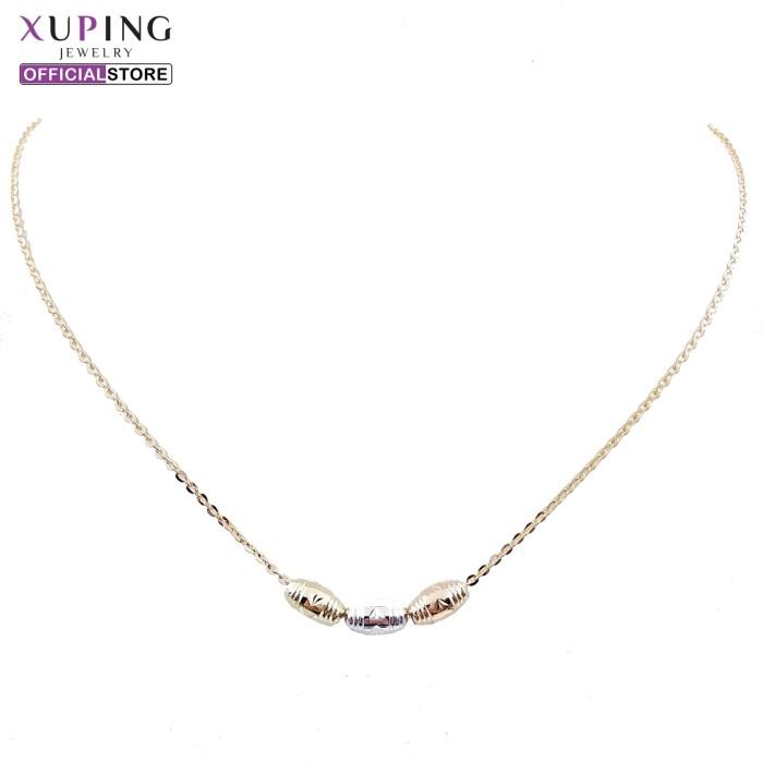 ... Xuping kalung motif tabung gold 0113180007