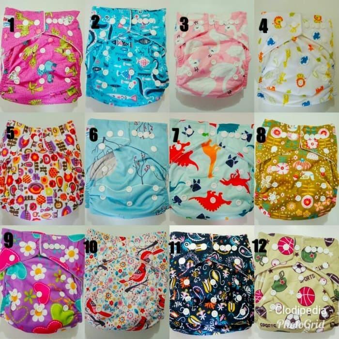 Foto Produk Clodi popok kain diaper cover Bayi 2 Insert Microfiber Babyland ANN10 dari Ruud Van Store