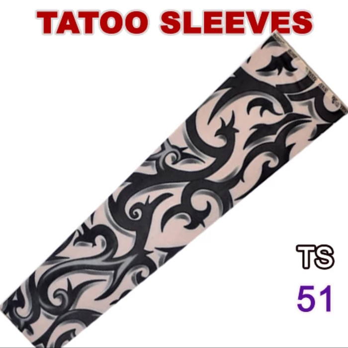 harga Manset tato tattoo tribal sarung tangan lengan motor Tokopedia.com
