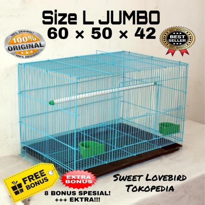 harga Kandang burung ternak umbaran size l (60x42x50). Tokopedia.com