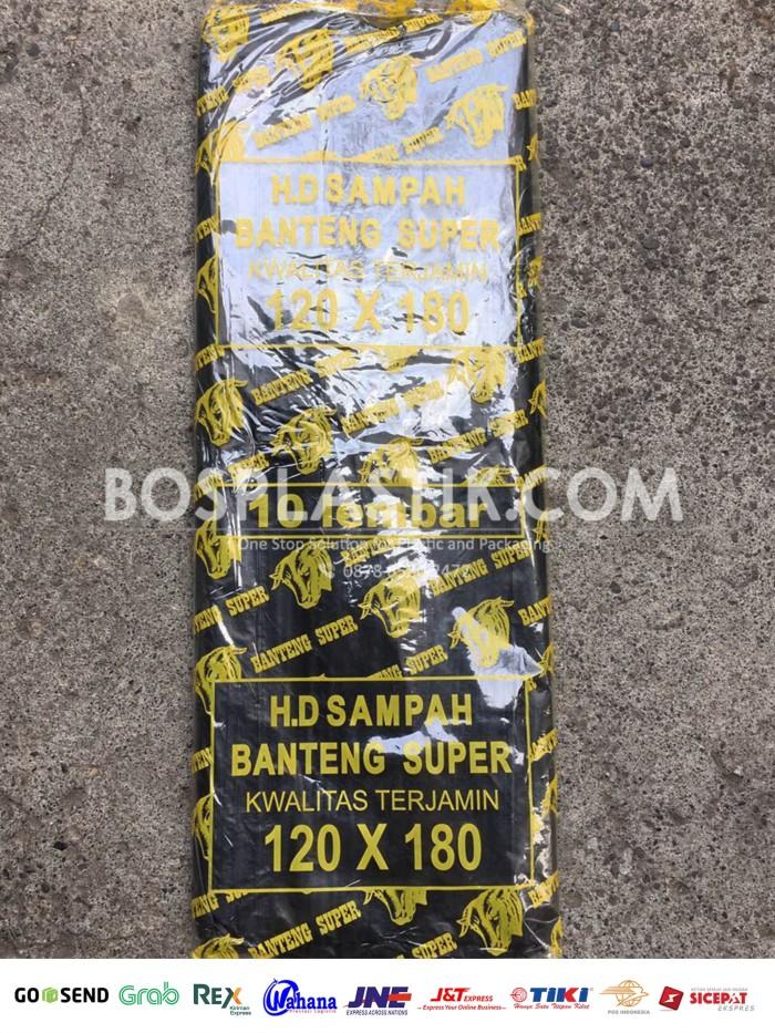 harga Kantong plastik pe sampah banteng jumbo uk 120 x 180 Tokopedia.com