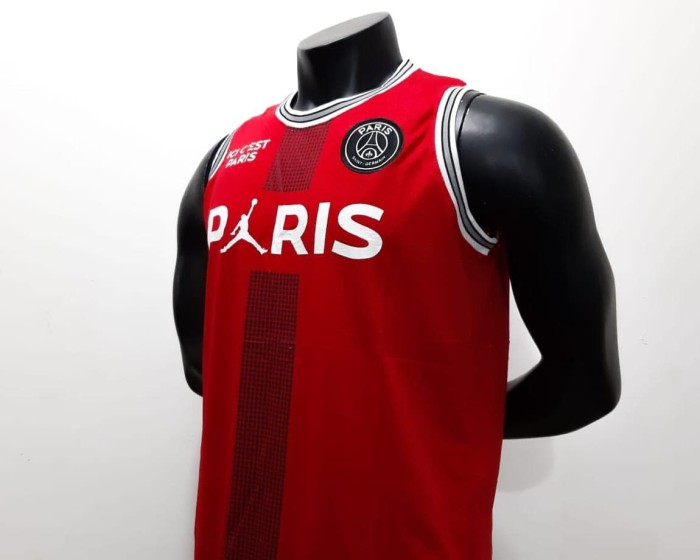 cheap for discount c74b8 06c93 Jual Jersey basket Air Jordan X Paris Saint-Germain - Jersey Jordan x PSG -  DKI Jakarta - footballstore_JKT   Tokopedia