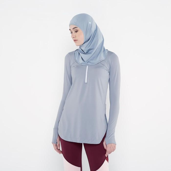 harga Corenation active najma long sleeve - light grey - abu-abu muda s Tokopedia.com