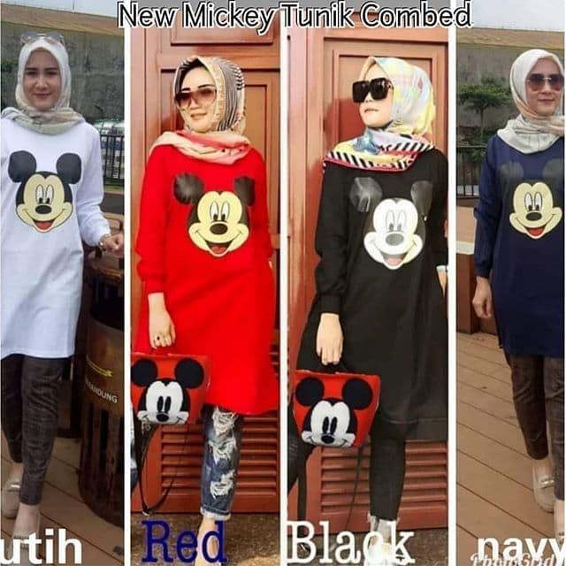 Foto Produk New mickey tunic az/ pakaian wanita dari Senshi group store bdg
