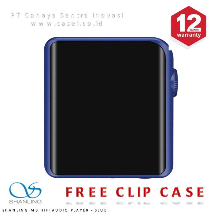 harga Shanling m0 hi-res portable digital audio music player bluetooth - biru Tokopedia.com