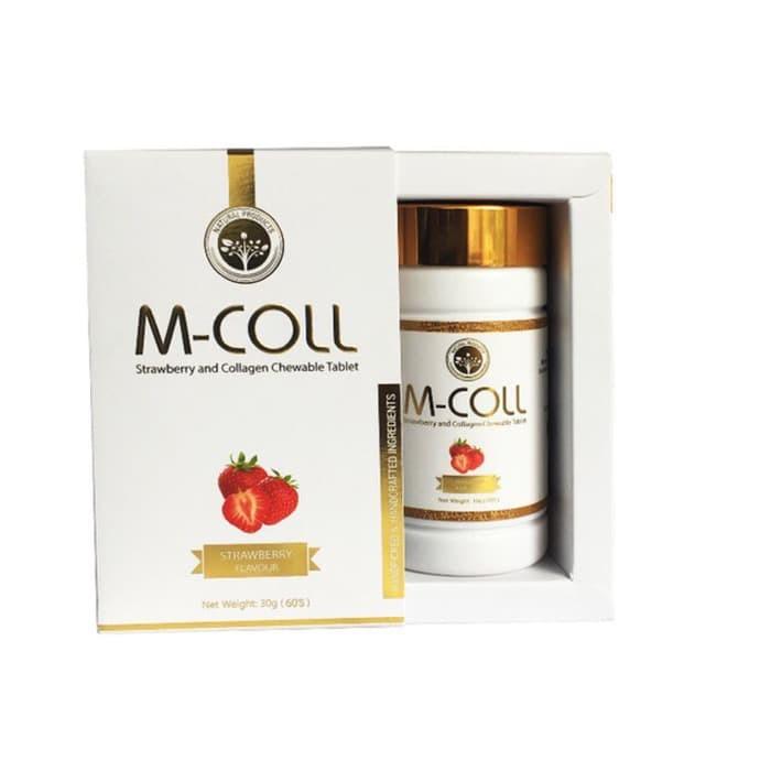 8 Rekomendasi Produk Penghilang Bekas Jerawat Tahun 2019: Jual Suplemen Pemutih Wajah M-Coll Colagen Candy Bekasi