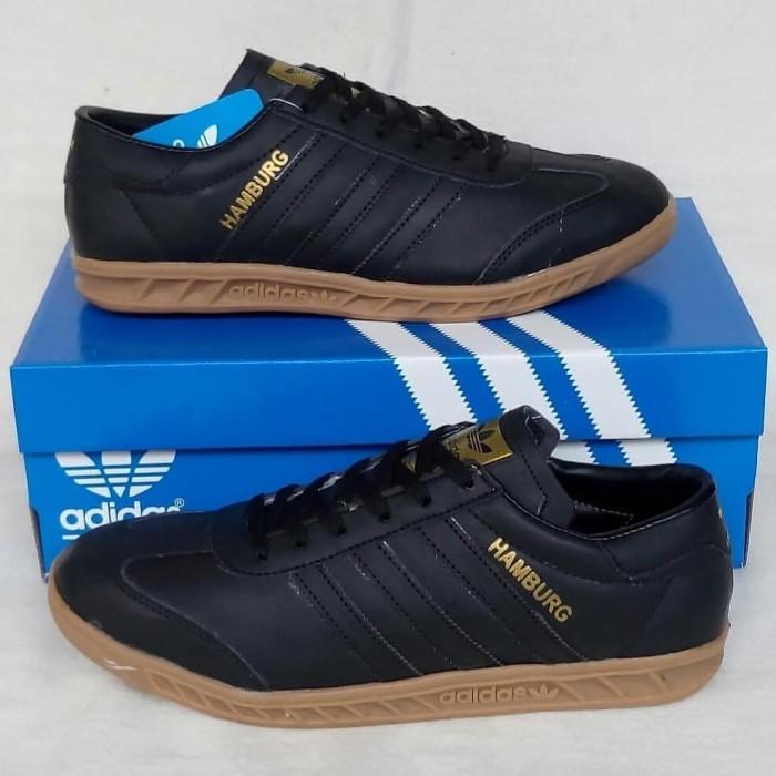 Jual Promo Sepatu Adidas Hamburg New Hitam 42 Jakarta Pusat