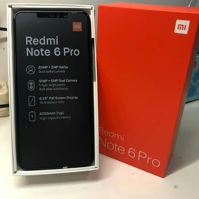 Jual Hp Xiaomi Redmi Note 6 Pro Xiomi Mi 6 Pro Ram 4 64gb Black Dki Jakarta Vycuvyvu Tokopedia