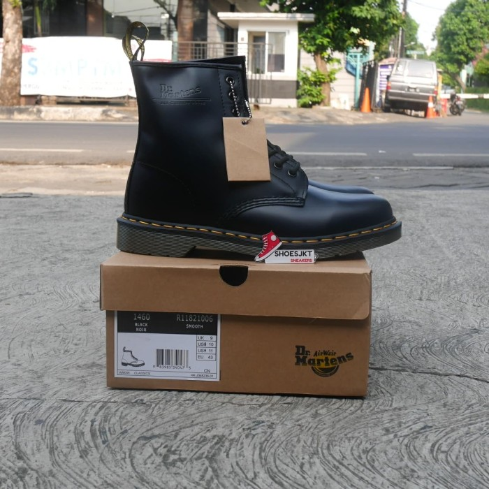 Jual Sepatu Dr Martens Airwair Black Noir Original Jakarta