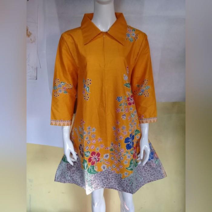 Jual Batik Art Atasan Batik Wanita Tunik Batik Terbaru 2019 Kdber211 Kab Pekalongan Saeart Batik Tokopedia